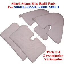 4 Refill Steam Mop Replacement Pocket Pads For Shark S3501 S3601 S3901 S3550