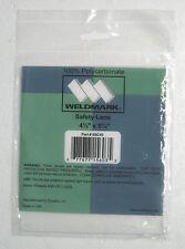 "NEW Weldmark Polycarbonate Safety Lens 4-1/2"" x 5-1/4"" 8SC45"