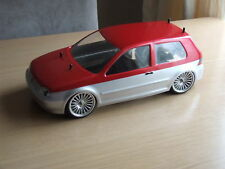 Kamtec Golf MK4 V5 GTi 1:10 rc car body shell £ 16.99 Tamiya repro lexan