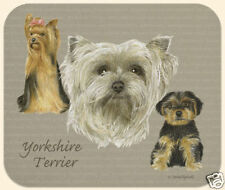 MOUSE PAD--YORKIE, Yorkshire Terriers **Beautiful**
