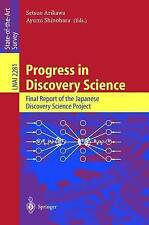 Progress in Discovery Science: Final Report of the Japanese Discovery-ExLibrary