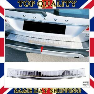 Chrome Rear Bumper Protector S.STEEL For Volvo XC-70 XC70 Facelift 2013 to 2018