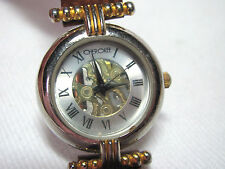 Cherokee Ladies Wristwatch Watch Braided Leather Band #32 2008