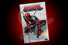 Deadpool #1 Rob Liefeld Big Red Comics Exclusive Variant 11x17 Print New Mutants