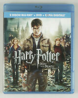 PRL) 2 BLU-RAY DISC HARRY POTTER E I DONI DELLA MORTE - PARTE 2 DVD FILM MOVIE