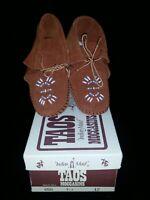 10114 Camel Size 3 Baby Leather Moccasins Genuine Leather YoYo Junior
