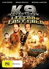 K9 Adventures - Legend Of The Lost Gold (Dvd) Adventure, Family Luke Perry Film