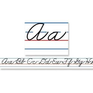 Carson Dellosa Traditional Cursive Alphabet Desk Tapes