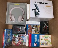 Wholesale LOT OF 25 Amazon Assorted Electronics Headphones, Cases, Video Games