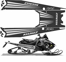 POLARIS AXYS TUNNEL decal GRAPHICS 600 RMK switchback assault  144 grey 2017