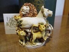 Harmony Kingdom Behold The King Lion Pride Box Figurine