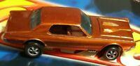 1967 Hot Wheels Redline Custom Cougar - PROTOTYPE BASE, PAINTED TOOTH, ORIGINAL!