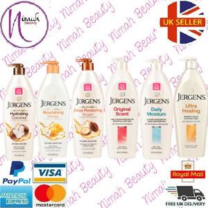 Jergens Moisturising Ultra Nourishing Long Lasting Skin Care Lotions Full Range