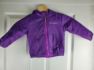 Kids Columbia Purple Dinosaur Jacket (Kitterwibbit Jacket) 12-18 Months - EUC
