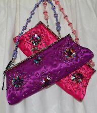 Clasp Satin Outer Handbags Sequined Clutch Bags