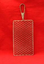 Vintage Acme Italy Flat Steel Safety Grater Shredder Diamond Shaped Blade
