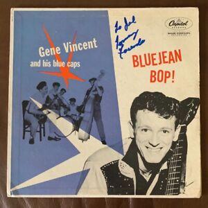 GENE VINCENT *BlueJean Bop* T764 CAPITOL 1956 Rockabilly Record Vinyl LP