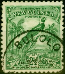 New Guinea 1934 2 1/2d Green SG179a Fine Used