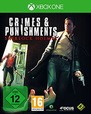 Sherlock Holmes: Crimes & Punishments (Microsoft Xbox One, 2014, DVD-Box)