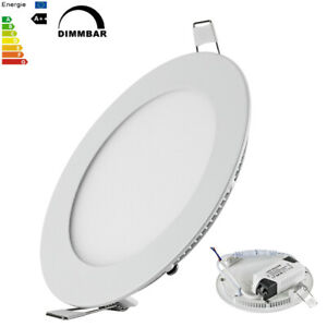 9W LED Panel Rund Einbaustrahler Deckenleuchte Dimmbar Leuchte Spot Ø150mm Slim