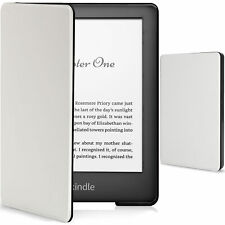 Kindle 2019 Case | Smart Protective Cover | Slim Lightweight | White + Stylus