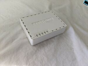 Used MikroTik RouterBoard 5 Port 250GS Series Bundled w/ Power Supply