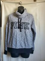Victoria's Secret Pink Women Gray and black Pullover Sweater Size ( XS )