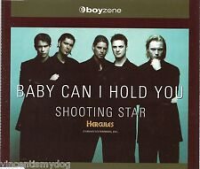 BOYZONE - BABY CAN I HOLD YOU (4 track CD single)