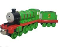 2002 Thomas The Train & Friends Take Along Die Cast Metal HENRY #3 Engine