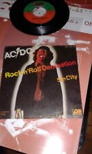 ac/dc single rock n roll damnation single germany
