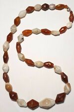 collier de cornaline Antique Agate Carnelian Stone trade beads Mali