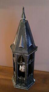 Vtg Gothic/Mission Medieval Tudor Castle Light Fixture Sconce