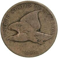 1858 Flying Eagle Cent Small Letters Good Penny GD