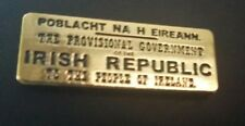 1916 Easter Rising Proclamation pin badge Irish Republican Celtic Ireland eire