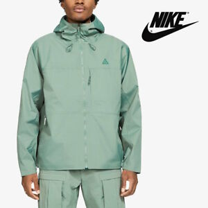 Nike ACG Tuff Nugget Men's Rain Wind Shell Jacket - Green Nylon size L XL 2XL