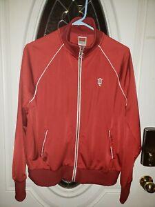NWOT Awesome NIKE Indiana University Sweat Top Jacket Full Zip Youth Sz 16/18