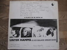 LP - GUNTER HAMPEL & HIS GALAXIE DREAM BAND - A PLACE TO BE WITH US