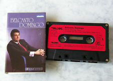PLACIDO DOMINGO Belcanto Domingo .. 1968 Teldec Club Edition MC