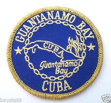 GUANTANAMO BAY CUBA  Military Veteran Biker Patch FL1232 HO