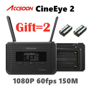 Accsoon CineEye 2 II HDMI 5G Wireless Video Transmission 500FT OLED Monitoring