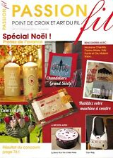 Passion fil N°17 point de croix art du fil Noël