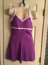 Nike Dri-Fit Women's Tennis Style Dress Purple Size M