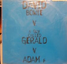 """David Bowie vs A Gur Called Gerald Telling Lies 3 Mixes Uk Limited 12"""""""