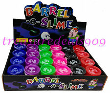 48 pcs Barrel O Slime Prank Trick Party Favors Joke Gag Of Toys Birthday Play