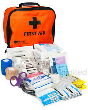 Gym First Aid Kit in Orange Incident Bag