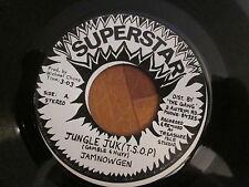 """Jamnowgen – Jungle Juk (T.S.O.P.) - JA 7"""" 1975 Superstar"""