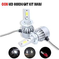 C6 H1 Turbo LED Headlight Conversion Kit 72W 76000 Lumen 6000k Pure White Beam