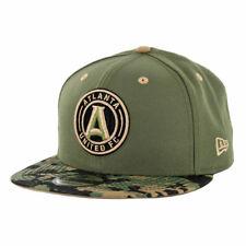 """New Era 950 Atlanta United FC """"Military Appreciation"""" Snapback Hat (D Camo) Cap"""