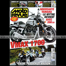MOTO REVUE N°3812 YAMAHA 1700 VMAX SUZUKI DL BMW F 650 GS HONDA 650 700 TRANSALP