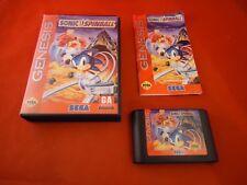 Sonic the Hedgehog Spinball (Sega Genesis 1993) COMPLETE Box manual Pinball #X1